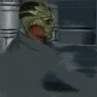 Thane unfinished by ShadowNight805