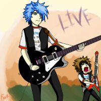 Mordecai And The Rigbys LIVE (Human Version) by Crescendolls187