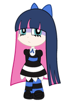 Stocking (SpeedPaintVideo) by giovanna-71