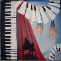 Aspects of a Piano by CatW1ngs