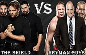 The Shield and Heyman Guys Wallpaper by edge4923