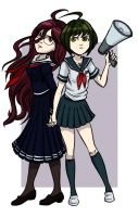 Gift - Touko and Komaru by Card-Queen