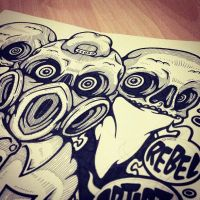 NOISE SINGAPORE 2013: SPREAD 03 WIP by GalactikCaptain