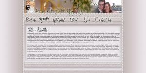 Wedding Website Design by Garsondee
