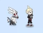 Gladion and Sivally Animation by GAmesterAxela