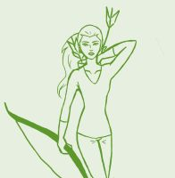 Artemis-The Hunger Games WIP by mocking-jay-birdy