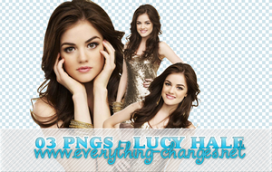 Lucy Hale - 03 PNG (HD) by MischiefIdea