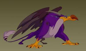 Purple Gryphon by doingwell