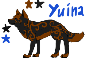 Yuina Reference by Yintheicewolf
