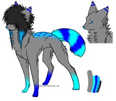 Wolf Adopt - 15 points - CLOSED by PandurrAdoptables