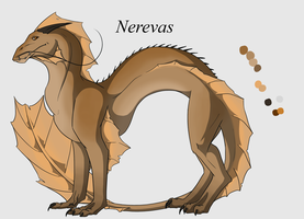 Commission-Nerevas by 768dragon