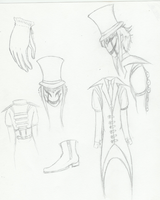 The Puppetmaster sketches by toboeslovingwolf