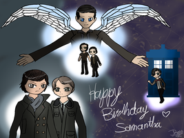 Happy B-day Sam by Snowstorm102
