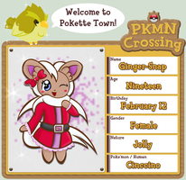 PKMN Crossing: Ginger-Snap by HelloKorny