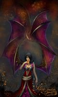 Onyxia Human Form by Annrose001