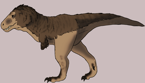 A (Hopefully) More Anatomically Correct T-Rex by HekoTaycannis