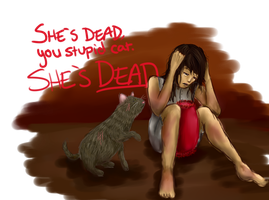 Mockingjay: She's dead. by Gigglish