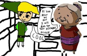 link meets his grandma by Youtubeurl
