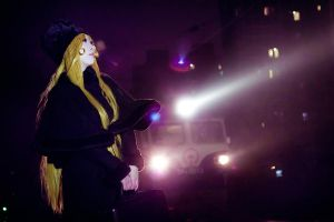 The Galaxy Express 999Maetel by michivvya