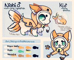 .:Nishi and Ki Reference:. by puffugu