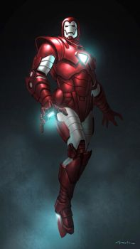 Iron Man by andyparkart