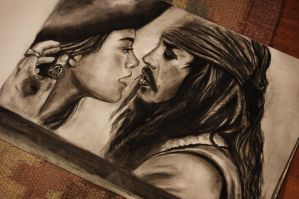 Miss Swann And Jack Sparrow by Yaimi