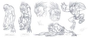 Stretch, Ben's Wretch Pet Concepts by MyFantasiWorld