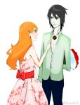 Orihime and Ulquiorra by WeliveinOZ