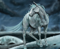 Polar Steed by animalartist16
