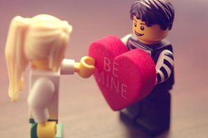 a lego valentine.. by confidencecollapsed