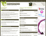 Demonoid Redesign by BlakliteGraphics