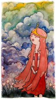 princess bubblegum sings a song by mhaladie