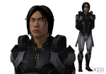 ME3 Kai Leng with optional visor for XPS by Just-Jasper