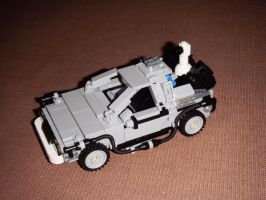 DeLorean from Back to the Future 2 by BrigadierDarman