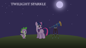 Twilight Sparkle wallpaper by SkiddleZIzKewl