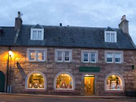 My favourite bookshop at dusk by piglet365