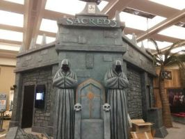 Tradeshow booth scenic fabrication by Spoonz2112