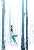 The sound of silence by PascalCampion