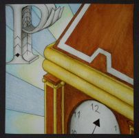 Art Deco Clock by whaats