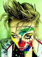 Allie the clown by tooti