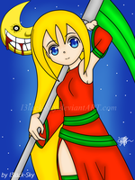 Art Trade: Aki Tamashii by I3lack-Sky