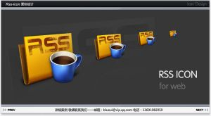 Rss icon design by blueui