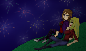 OJ Collab - Watching Fireworks by tashaj4de