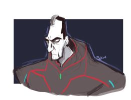 Tesler Doodle by TheSphinxDen