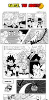 Raditz, the Mighty... - a DBM contest entry by yourparodies