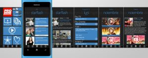 News website design for windows phone by atty12