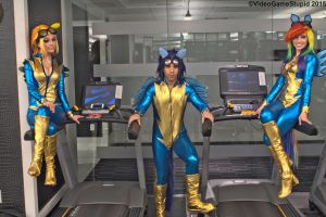 Katsucon 2015 - Wonderbolts(PS) 01 by VideoGameStupid