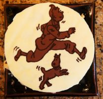 My Tintin cake(: by Sydney0007