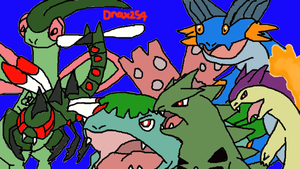 My New Pokemon Soul Silver Team by Drax254