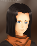Android 17 _ Lapis by HatakeShion